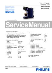 philips senseo up hd7880 10 manuals rh manualslib com phillips senseo manual philips senseo manual hd7825