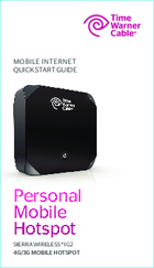 time warner cable personal mobile hotspot manuals rh manualslib com time warner phone manual time warner manual remote control