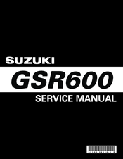 Suzuki GSR600 Service Manual