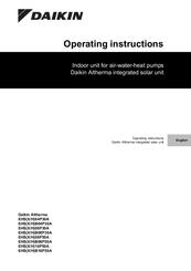 DAIKIN EHSX04P30A OPERATING INSTRUCTIONS MANUAL Pdf Download