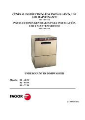 Fagor Fi-64b Инструкция - фото 11