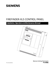 Siemens FIREFINDER-XLS Installation, Operation And Maintenance Manual