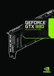 NVIDIA GEFORCE GTX 980 INSTALLATION MANUAL Pdf Download
