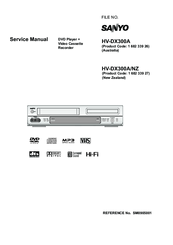 Sanyo HV-DX300A Service Manual