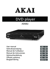 akai ad66u manuals rh manualslib com akai portable dvd player with tv tuner manual Akai Portable DVD Player 7