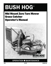 BUSH HOG GRASS CATCHER OPERATOR'S MANUAL Pdf Download
