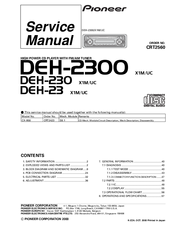 pioneer deh 2300 service manual pdf download Pioneer Deh P7700mp Wiring-Diagram
