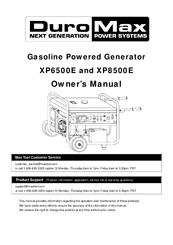 duromax xp8500e manuals rh manualslib com Portable Generators Repair Wiring Diagram 6 Volt Generator Wiring Diagram