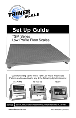 Triner Scale TSM Series Manuals