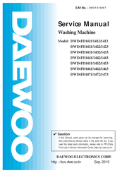 Daewoo DWD-FD1452 Manuals