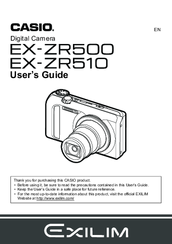 casio zr20 manual