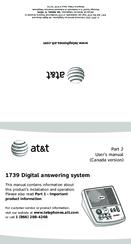 at t 1739 manuals rh manualslib com AT&T Samsung Note 2 Model AT&T Model Z431