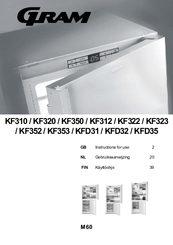 gram kf310 instructions for use manual pdf download rh manualslib com Bosch Appliances Appliance BTU Chart