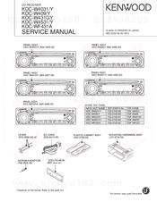 Kenwood Kdc-w431gy инструкция - фото 8