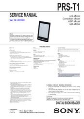 sony prs t1 manuals rh manualslib com PRS-T1 Hack Sony PRS-T1 Case
