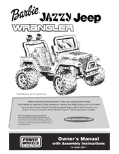 power wheels barbie jazzy jeep wrangler manuals rh manualslib com power wheels tough talking jeep wrangler manual power wheels deluxe jeep wrangler manual