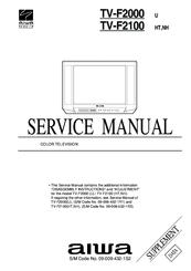 aiwa tv f2100 manuals rh manualslib com  aiwa crt tv service manual