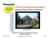 panasonic tc p50g10 manuals rh manualslib com Panasonic Viera TV Chart for Panasonic TC -P46G10 Blink
