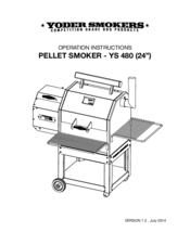 Yoder Smokers YS 480 Manuals