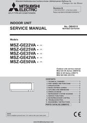 mitsubishi electric msz ge50va manuals rh manualslib com