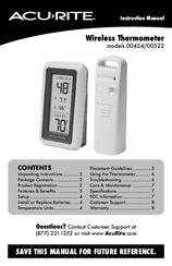 acu rite 00611a3 manuals rh manualslib com acurite thermometer manual acurite thermometer manual