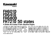 Kawasaki FH680D - Owner's Manual