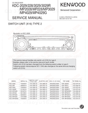 kenwood kdc mp228 200w cd mp3 wma receiver i pod manuals rh manualslib com