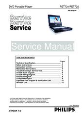 philips pet724 manuals rh manualslib com