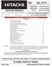 hitachi 42hdt55 manuals rh manualslib com Sony STR De475 Manual Manual for Web Card
