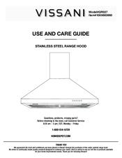 vissani qr027 manuals rh manualslib com range hood specs vissani range hood manual