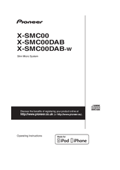 Pioneer X-SMC00DAB Operating Instructions Manual