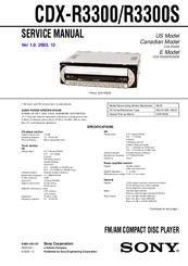 sony cdx gt32w wiring diagram sony cdx-r3300s manuals