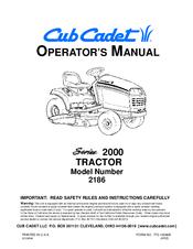 cub cadet gt 2186 manuals rh manualslib com Cub Cadet 46 Inch Mower Deck Parts Cub Cadet 46 Inch Mower Deck Parts