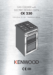 Kenwood CK 230 Instructions For Use - Installation Advice