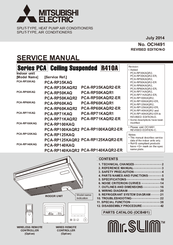 Awesome We Have 1 Mitsubishi Mr.SLIM PCA RP100KAQR2 Manual Available For Free PDF  Download: Service Manual