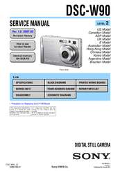sony dscw90 cybershot 8 1mp digital camera manuals rh manualslib com sony dsc-w80 manual sony dsc wx80 manual