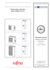 Fujitsu Heat pump Operation Manual
