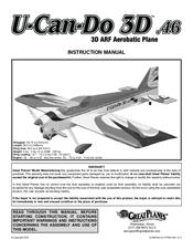 Great Planes U-Can-Do 3D 46 Manuals