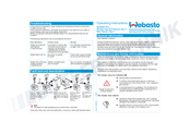 webasto thermo top c manuals webasto thermo top c operating instructions