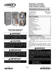 lennox air handler cb26uh manuals. Black Bedroom Furniture Sets. Home Design Ideas