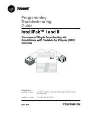 trane intellipak manuals manuals and user guides for trane intellipak we have 2 trane intellipak manuals available for pdf programming troubleshooting manual
