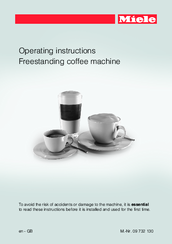 Miele CM 6100 Operating Instructions Manual