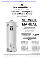 bradford white mi503 series manuals rh manualslib com bradford white ef series service manual Bradford White Water Heater Troubleshooting