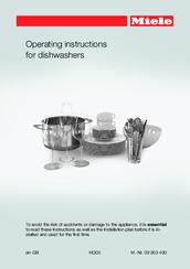 miele g 4920 manuals rh manualslib com miele instruction manual dishwasher miele s700 instruction manual
