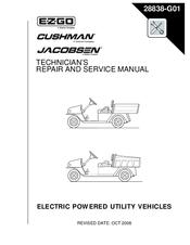 e-z-go mpt 1000 technician's repair and service manual