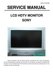 sony klv 40u100m service manual pdf download rh manualslib com Sony BRAVIA VGA Sony BRAVIA VGA