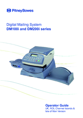 Pitney Bowes DM200i Series Operator's Manual