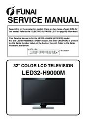 funai lcd service manual