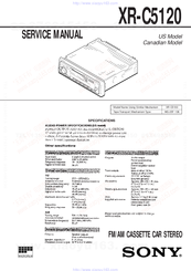 Sony Xr C5120 Wiring Diagram - Wiring Diagram And Schematics Radio Wiring Diagram For Sony Xr C on