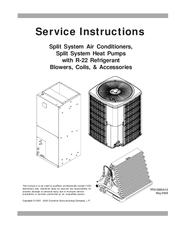 Goodman GSH130301BA Manuals